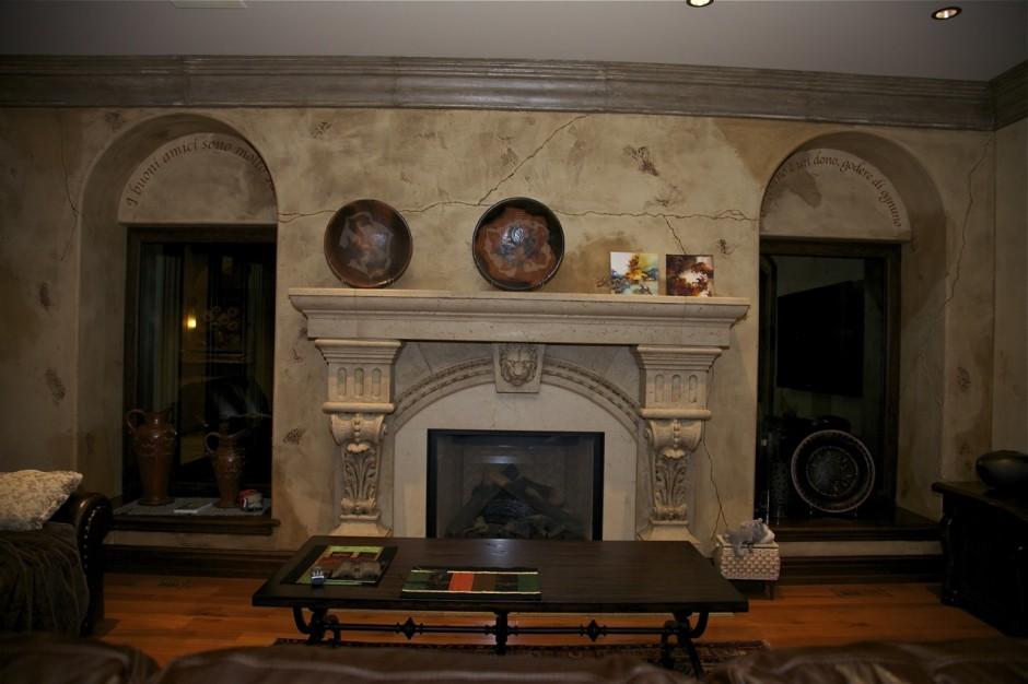Decorative Interior Plastering : Old world italian lime plasterdecorative painting