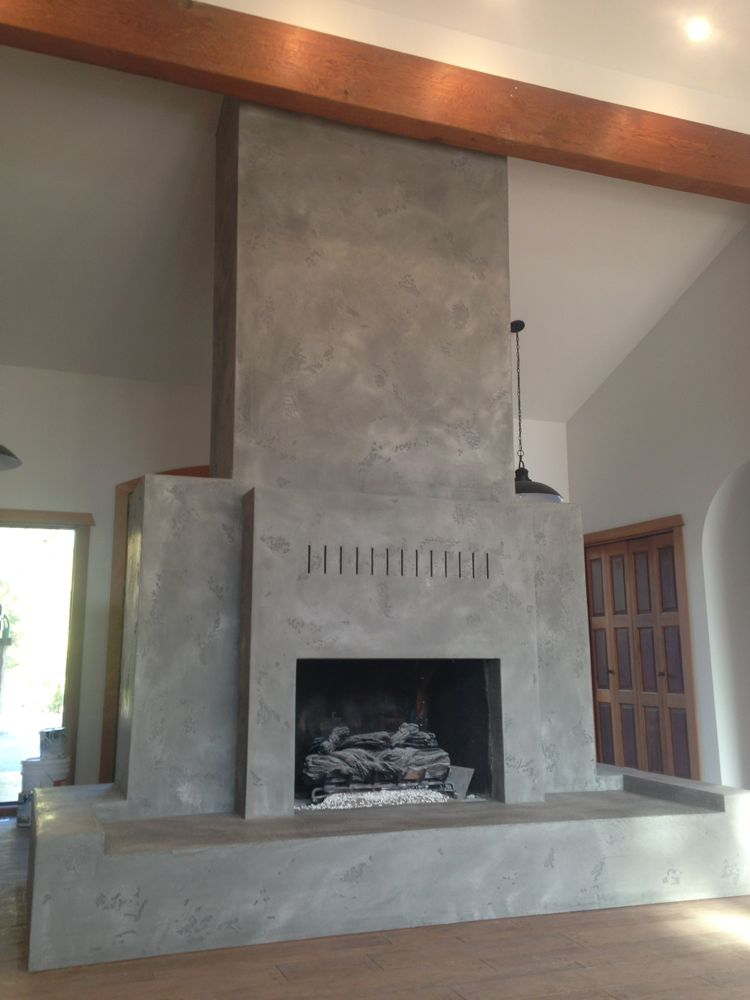 Intonachino Lime plaster over red brickDecorative Painting ...